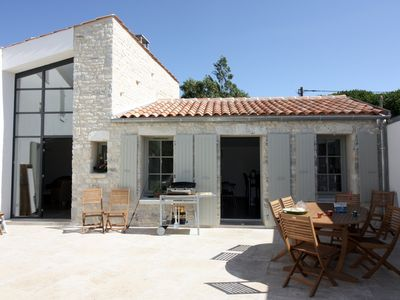 Photo for Spacious restored barn near center and beaches 10 people St Denis d'Oléron
