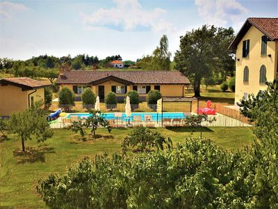 Photo for Le 16 Querce: VILLA & APARTMENT IN CASALE - Monferrato - Pool & Park - 16 peopl