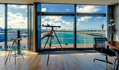 Photo for Penthouse with large terrace near Beach & Harbor