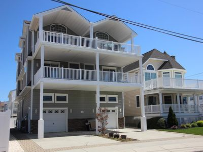 Photo for Great Location! Beautiful beach block townhome just steps to the beach!