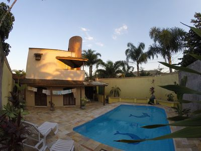 Photo for GUARUJÁ HOUSE 100 METERS FROM THE SEA SLEEPS 15 PEOPLE