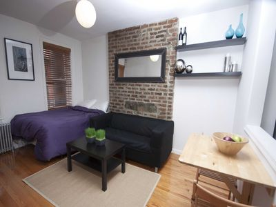 Photo for Newly Renovated Furnished Studio ,Heart of Soho - Studio Apartment, Sleeps 2