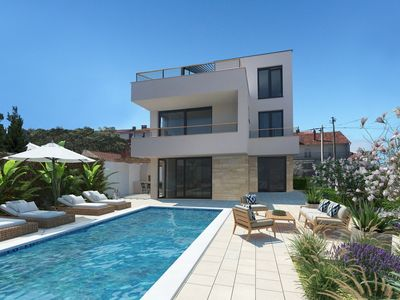 Photo for Modern Villa Tereza, in Zadar, with a Pool