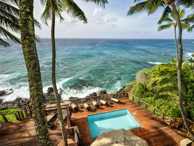 Photo for Oceanfront 1-bd 2-ba Penthouse with Resort Pool for Two - Honeymoon Special