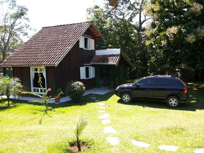 Photo for Charming cottage with lots of green, shadow, pool, barbecue and ample ground