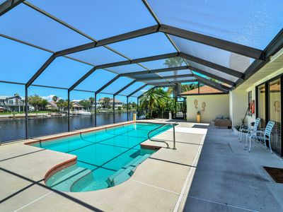 Photo for Hernando Beach Waterfront House w/ Pool & Deck!