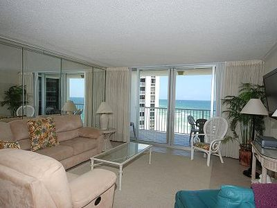 Photo for Shoreline Towers 2085 - 2 Bdrm/2 Bath Spacious Vacation Rental on the Beach!!