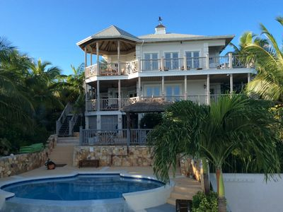 Photo for Beautiful Thevine House with pool by ocean & breathtaking scenery
