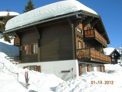 Photo for Apartment Konkordia 1 in Bettmeralp - 5 persons, 2 bedrooms