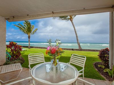 Photo for Steps from the ocean Premium 1 bedroom great view Direct Ocean Front