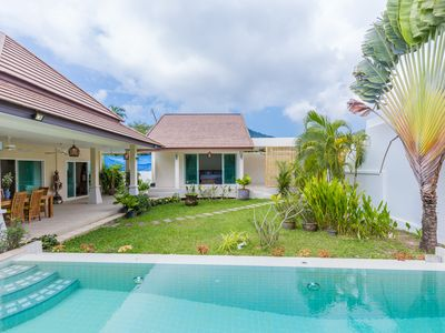 Photo for Pacotte tropical villa with private pool