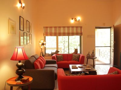 Photo for 2 Bedroom luxury pool villa 2 km from Candolim  (in Nerul)