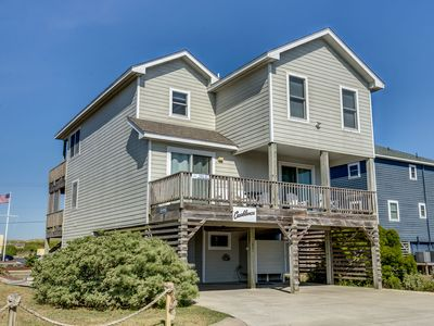 Photo for Casa Blanca | 920 ft from the beach | Private Pool, Hot Tub | Nags Head