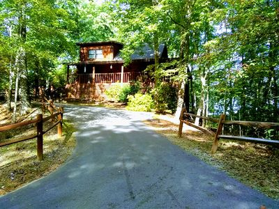Photo for Smoky Mountain Log Cabin, Only Minutes From All Attractions, $135 nightly