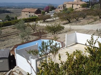 Photo for Gîte at the foot of Mont Ventoux with swimming pool