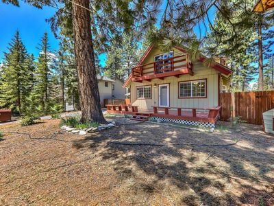 Photo for 4 Bedroom Chalet backing to miles of forest trails with a hot tub