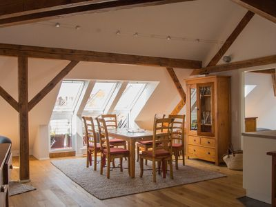 Photo for Extravagant attic apartment 100sqm for up to 6 people centrally in Nuremberg