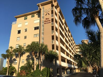 Photo for Fantastic condo steps from the beach with spectacular sunsets & views to enjoy