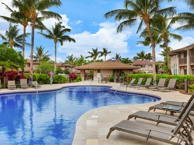 Photo for NEW LISTING! Breezy condo w/ lanai, shared pool, & hot tub - near golf & beach