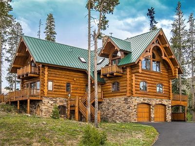 Photo for Sleeps 16 in Luxury!   Private Hot Tub   A+ Amenities including Movie Theatre
