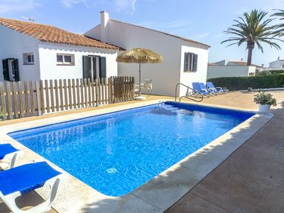 Photo for Catalunya Casas: Villa Fera for 9 guests, with water views, 4km to Menorca beaches!