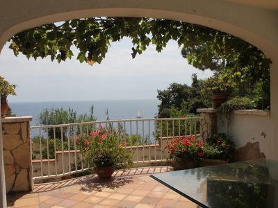 Photo for House with beautiful sea views, 800 m from the beach