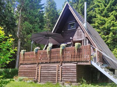 Photo for Holiday house in the green heart of Germany, located directly on the Rennsteig
