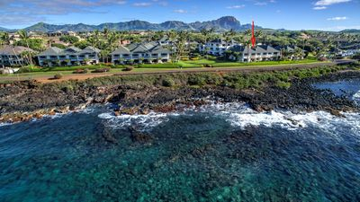 Poipu Kapili #53 - Well Equipped Oceanview Condo with A/C!