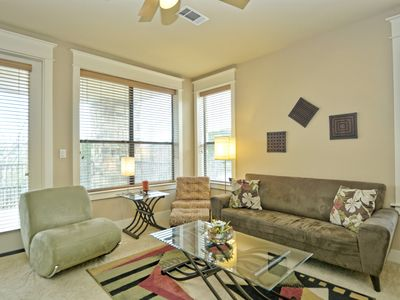 Photo for Beautiful 2b/2b Hilltop Villa Condo, sleeps 6, direct garage access, fully equip