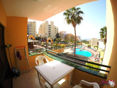 Photo for Fabulous apartment with pool and sea view