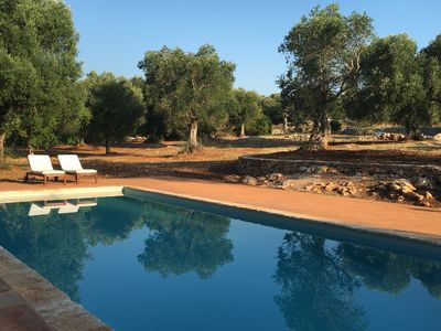 Photo for Magnificent house with swimming pool in the middle of 4 hectares of olive trees