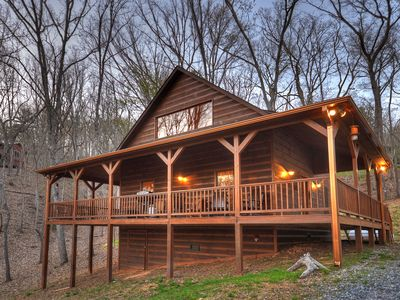 Photo for Cardinals Crossing is a romantic cabin in the mountains! Spring Special!