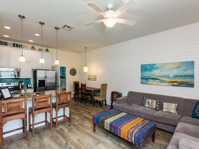 Ocean Views! 4/3 New Townhome w/1000sf Private Patio & Outdoor Shower