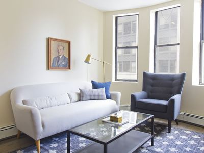 Photo for Simple 2BR in Financial District by Sonder