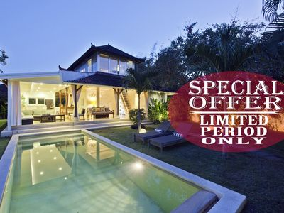 Photo for The Palms, 2 Bedroom Garden, Family Villa, Near Seminyak