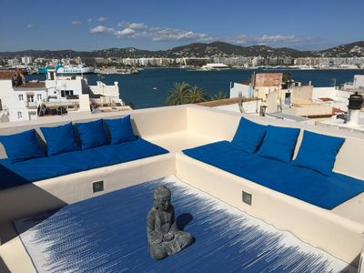 Feel the spirit of Ibiza from the chillout terrace