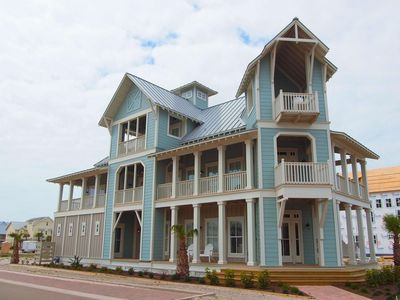 Photo for 4 bd/3.5ba located across the street from Dune Park Pool & steps to the beach