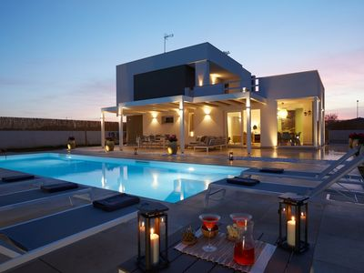Photo for Sariva Villa - Private Pool and Sand Beach at 50 mt