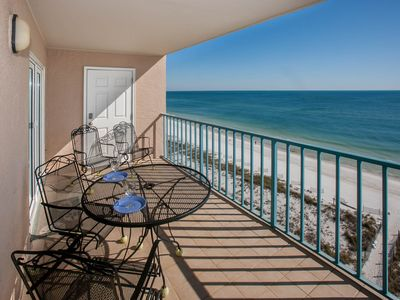 Photo for ***Awesome Views From Large Balcony, Sunset Strolls Beach/Pool Now Open******