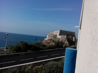 Photo for T2 superb sea view, pool, near downtown, port and cures Balaruc