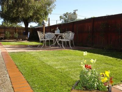 Large & very private Fenced Yard