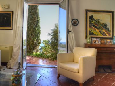 Photo for Villa with garden 10 beds breathtaking panorama on the Gallinara Island WI-FI