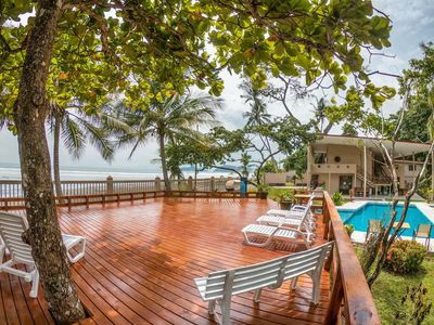 Photo for 2 Bedroom Luxury Oceanfront Cabinas on Jaco Beach