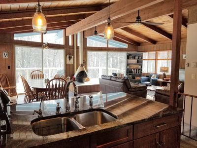 Photo for Gorgeous, Renovated Chalet w/access to Pools & Golf