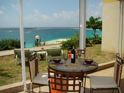 Enjoy breakfast or a romantic dinner for two with a view