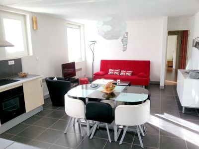 Photo for Homerez last minute deal - Nice apt - 8 km from the slopes
