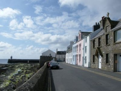 Photo for Manx cottage, on sea front in Castletown. Four star property, 5 mins from town