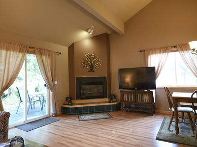 Photo for Hardwood Floors and Gas Fireplace