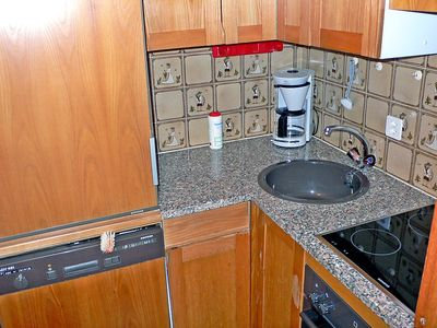 Photo for Apartment in the center of Silvaplana with Lift, Parking, Garden, Balcony (61367)