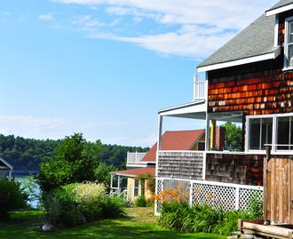 Classic Turn of the Century Island Summer Cottage